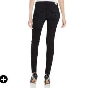 Hudson Lydia Flap Skinny Jeans In Influencer 25
